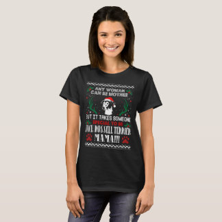 Jack Russell Terrier Mama Christmas Ugly Sweater