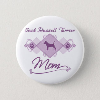 Jack Russell Terrier Mom 2 Inch Round Button