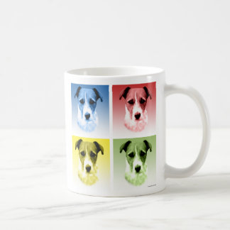 Jack Russell Terrier Pop Art Coffee Mug