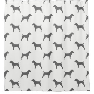 Jack Russell Terrier Silhouettes Pattern