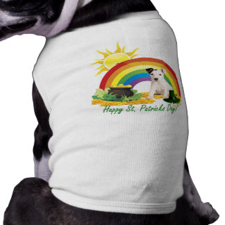 Jack Russell Terrier St. Patrick's Day Wishes Shirt