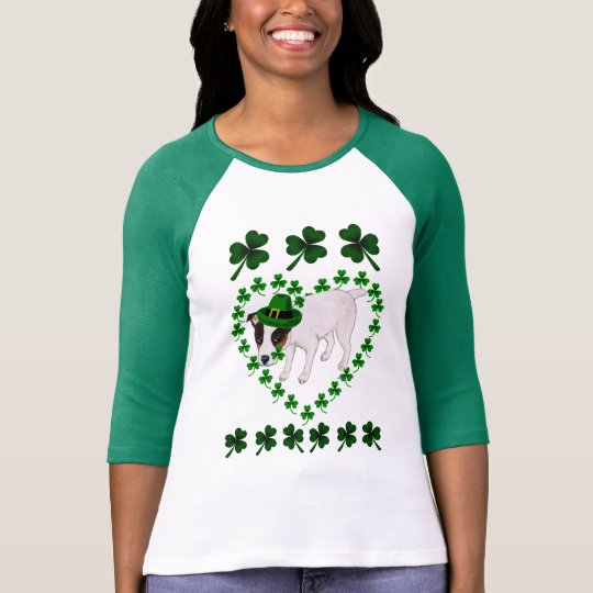 Jack Russell Terrier St. Patrick's Day tshirt