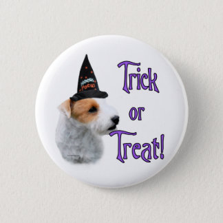 Jack Russell Terrier Trick 2 Inch Round Button