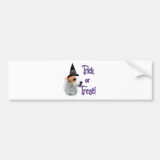 Jack Russell Terrier Trick Bumper Sticker
