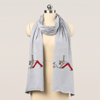 Jack Russell Terrier Tricolor Yoga Scarf