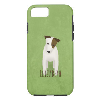 jack russell terrier with cute head tilt Case-Mate iPhone case