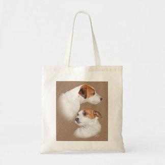 Jack Russell Terrior Tote Bag