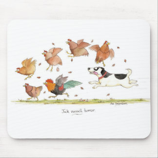'Jack Russell terror' Mousepad