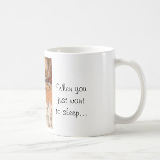 Jack Russells sleeping quote mug