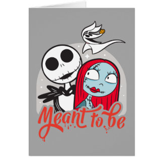 Jack & Sally | Meant to Be Card