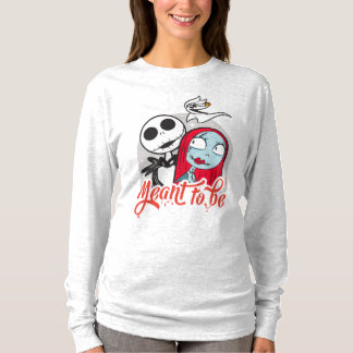 Jack & Sally   Meant to Be T-Shirt