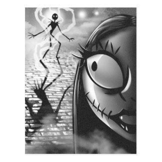 Jack & Sally | Misfit Love Postcard
