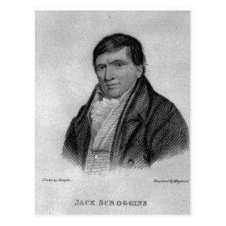 Jack Scroggins, engraved by Hopwood Postcard