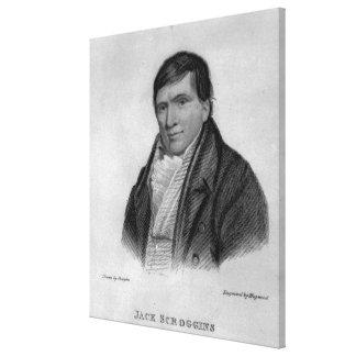 Jack Scroggins, engraved by Hopwood Stretched Canvas Prints