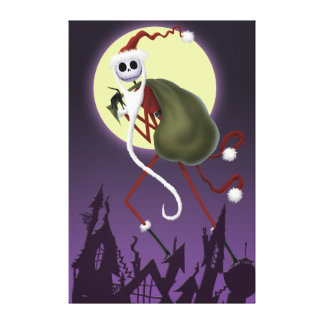 Jack Skellington | ...And To All A Good Fright! Canvas Print
