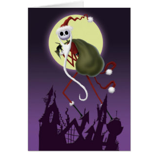 Jack Skellington | ...And To All A Good Fright! Card