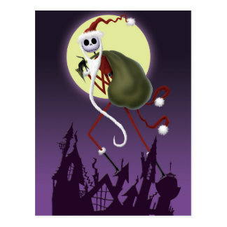 Jack Skellington | ...And To All A Good Fright! Postcard