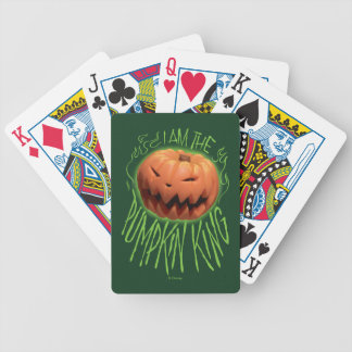 Jack Skellington | I Am The Pumpkin King Bicycle Playing Cards