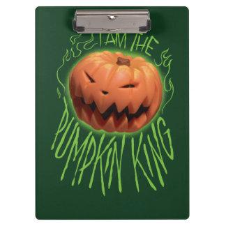 Jack Skellington | I Am The Pumpkin King Clipboard