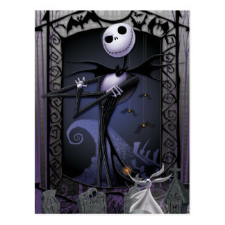 Jack Skellington | King of Halloweentown Postcard