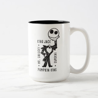 Jack Skellington | Mr. Unlucky Two-Tone Coffee Mug