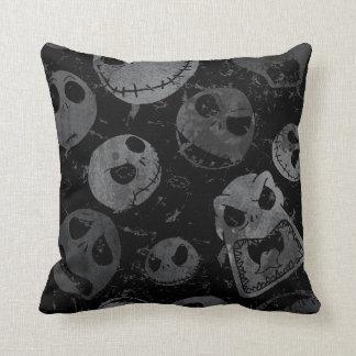 Jack Skellington Pattern Throw Pillow