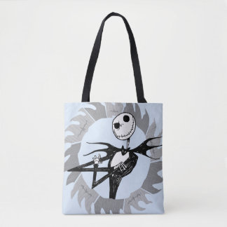Jack Skellington | Saw Blade Frame Tote Bag