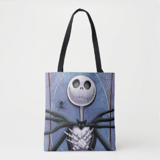 Jack Skellington | Spider Web Frame Tote Bag