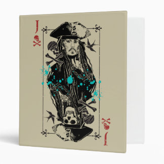 Jack Sparrow - A Wanted Man 3 Ring Binder