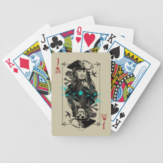 Jack Sparrow - A Wanted Man Bicycle Playing Cards