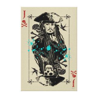 Jack Sparrow - A Wanted Man Canvas Print