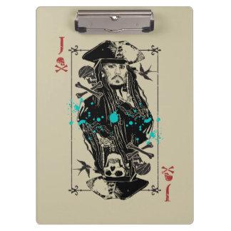 Jack Sparrow - A Wanted Man Clipboard