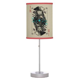 Jack Sparrow - A Wanted Man Desk Lamps