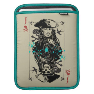 Jack Sparrow - A Wanted Man iPad Sleeve