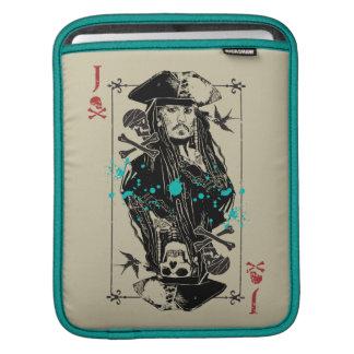Jack Sparrow - A Wanted Man iPad Sleeves