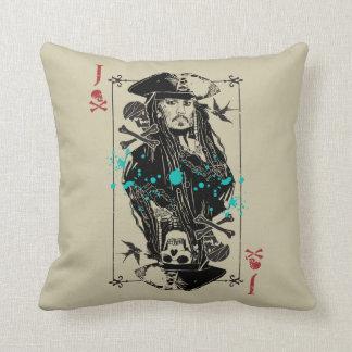 Jack Sparrow - A Wanted Man Throw Pillow