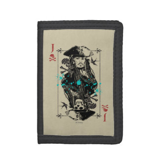 Jack Sparrow - A Wanted Man Trifold Wallet