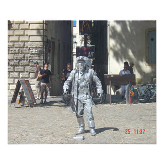 Jack Sparrow in Avignon Photographic Print
