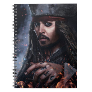 Jack Sparrow - Legendary Pirate Notebooks