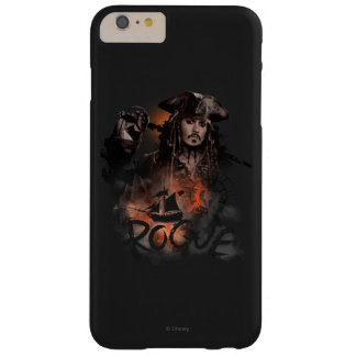 Jack Sparrow - Rogue Barely There iPhone 6 Plus Case
