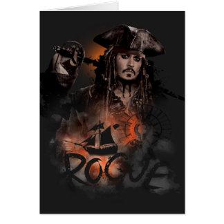Jack Sparrow - Rogue Card