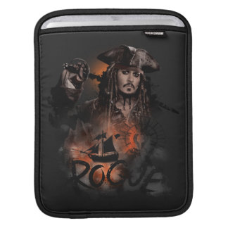 Jack Sparrow - Rogue iPad Sleeve
