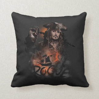Jack Sparrow - Rogue Throw Pillow