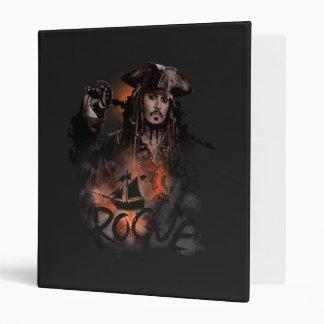 Jack Sparrow - Rogue Vinyl Binder