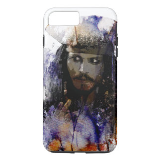 Jack Sparrow sea pirates adventure iPhone 8 Plus/7 Plus Case