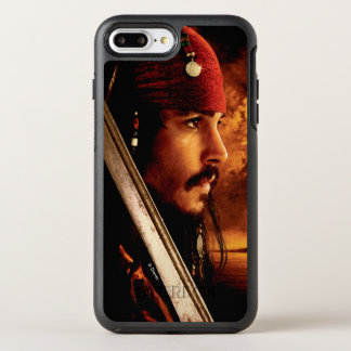 Jack Sparrow Side Face Shot OtterBox Symmetry iPhone 8 Plus/7 Plus Case