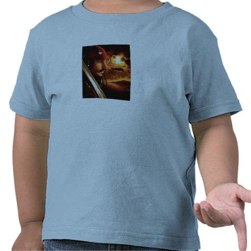 Jack Sparrow Side Face Shot Shirts