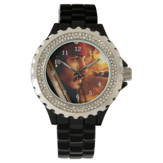 Jack Sparrow Side Face Shot Watch
