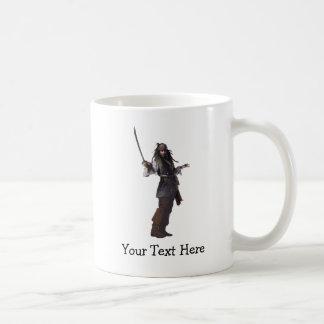 Jack Sparrow Standing with Sword Coffee Mug