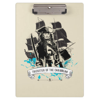 Jack Sparrow - Trickster of the Caribbean Clipboard